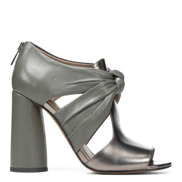 Bailey Metallic and Nappa Leather Sandal | Hermosaz