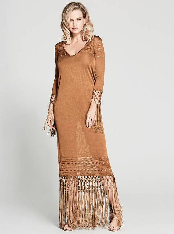 JONI SWEATER MAXI DRESS | Hermosaz
