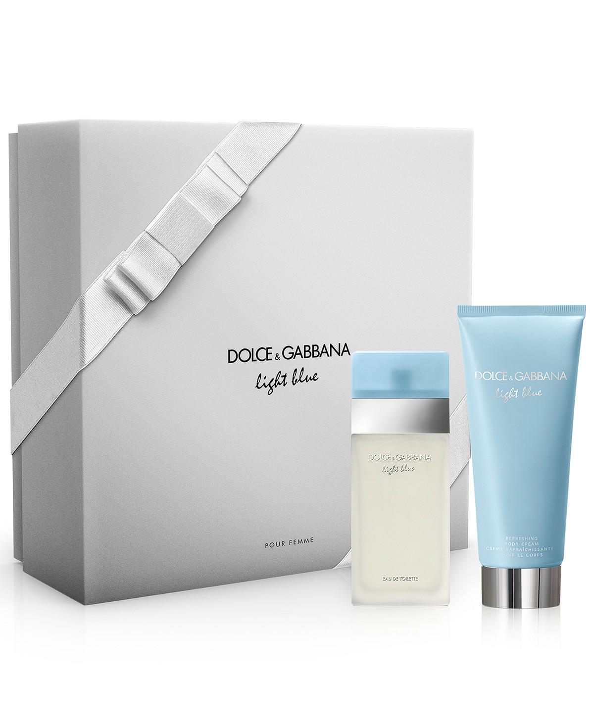 Dolce & Gabbana DOLCE&GABBANA 2-Pc. Light Blue Gift Set | Hermosaz