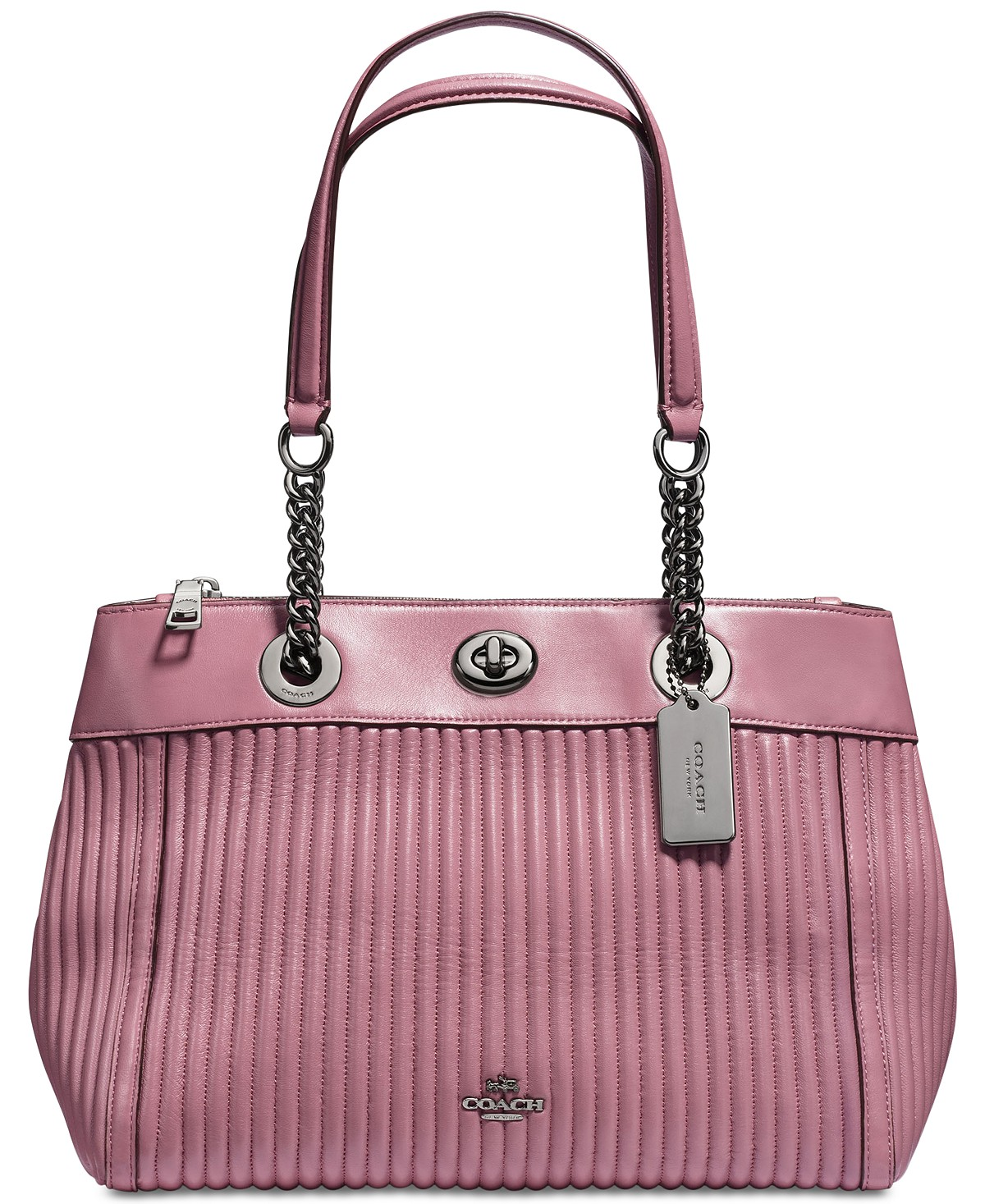 Coach Turnlock Edie Carryall with Quilting | Hermosaz