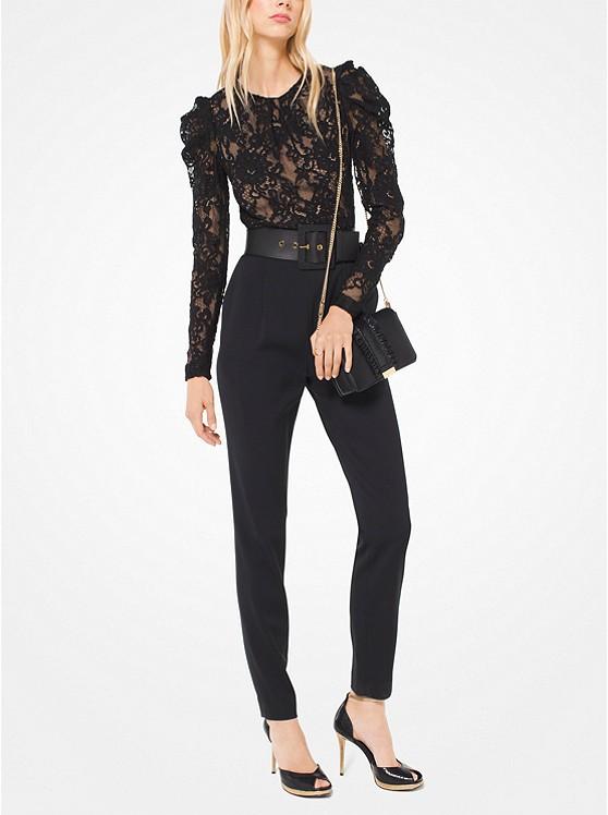 Michael Michael Kors  Floral Lace Jumpsuit | Hermosaz