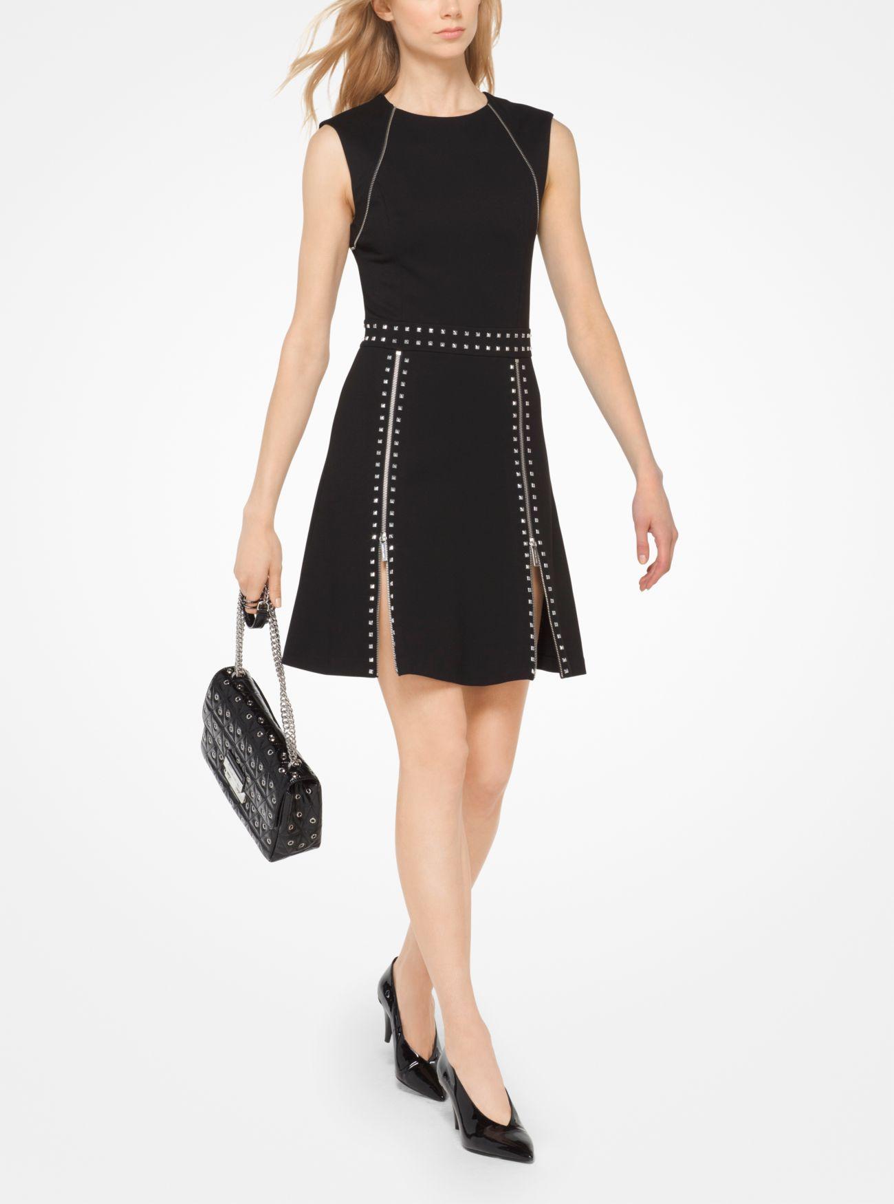 Studded Ponte Dress | Hermosaz