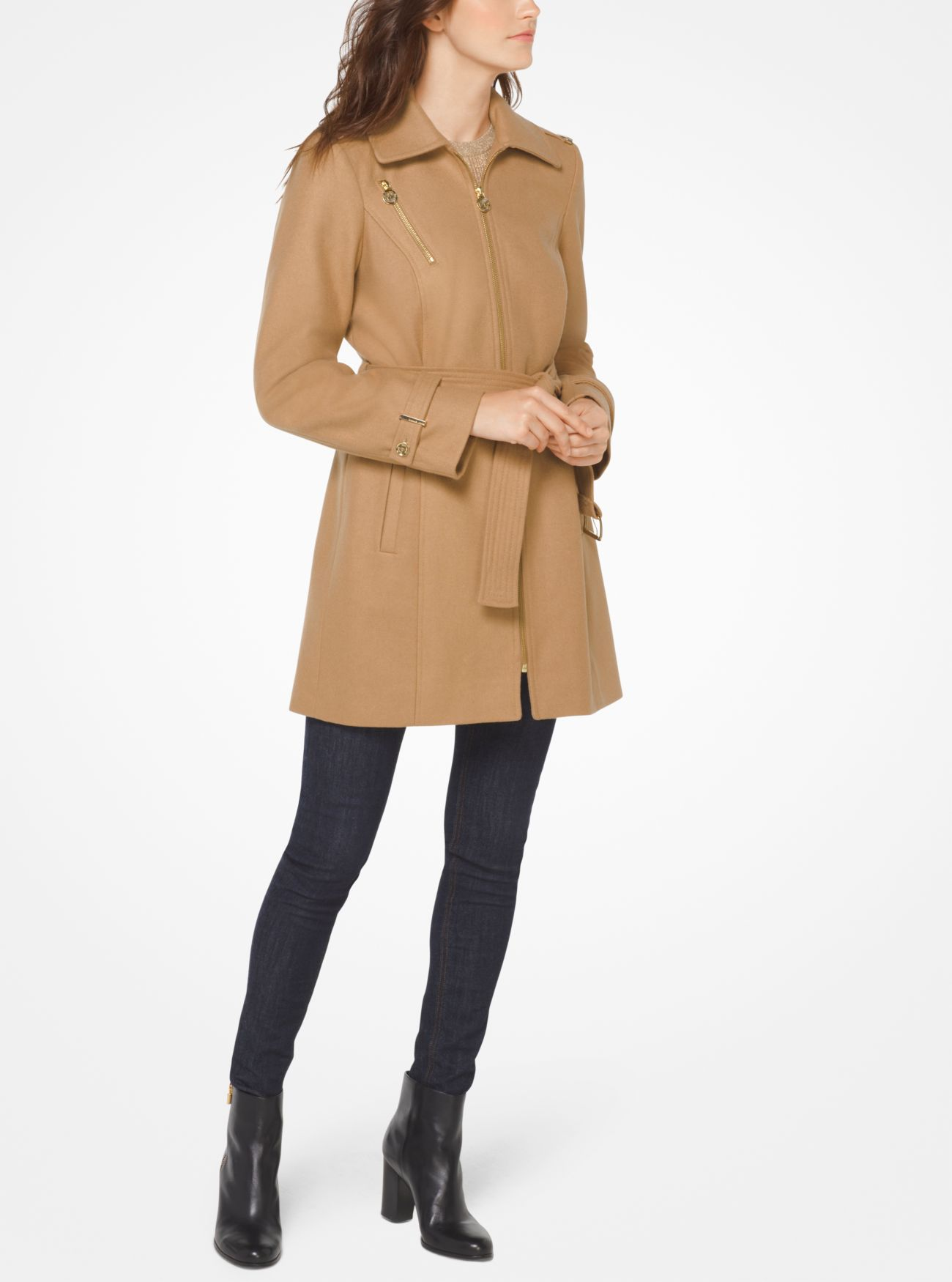 Wool & Cashmere Coat | Hermosaz