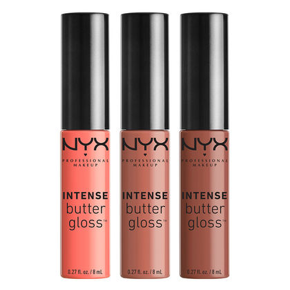 NYX INTENSE BUTTER GLOSS SET 2 | Hermosaz