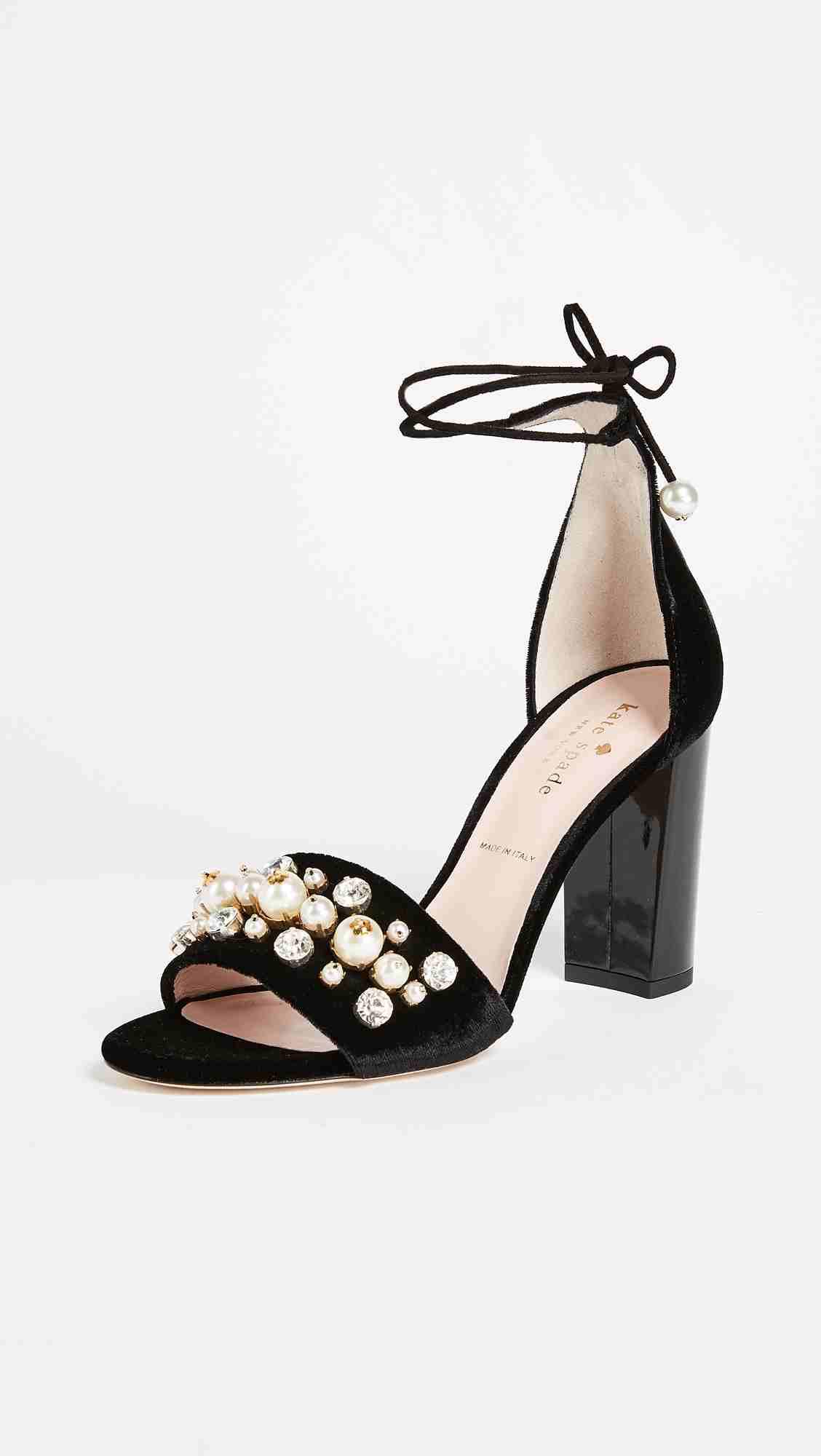 Kate Spade Iverna Bejeweled Pumps | Hermosaz