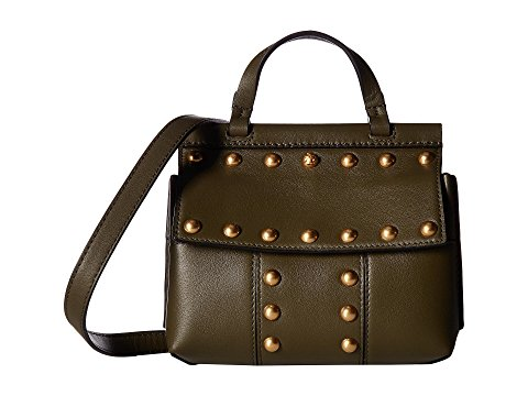 Tory Burch Block T Stud Satchel | Hermosaz