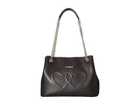 Love Moschino Embossed Heart Shoulder | Hermosaz