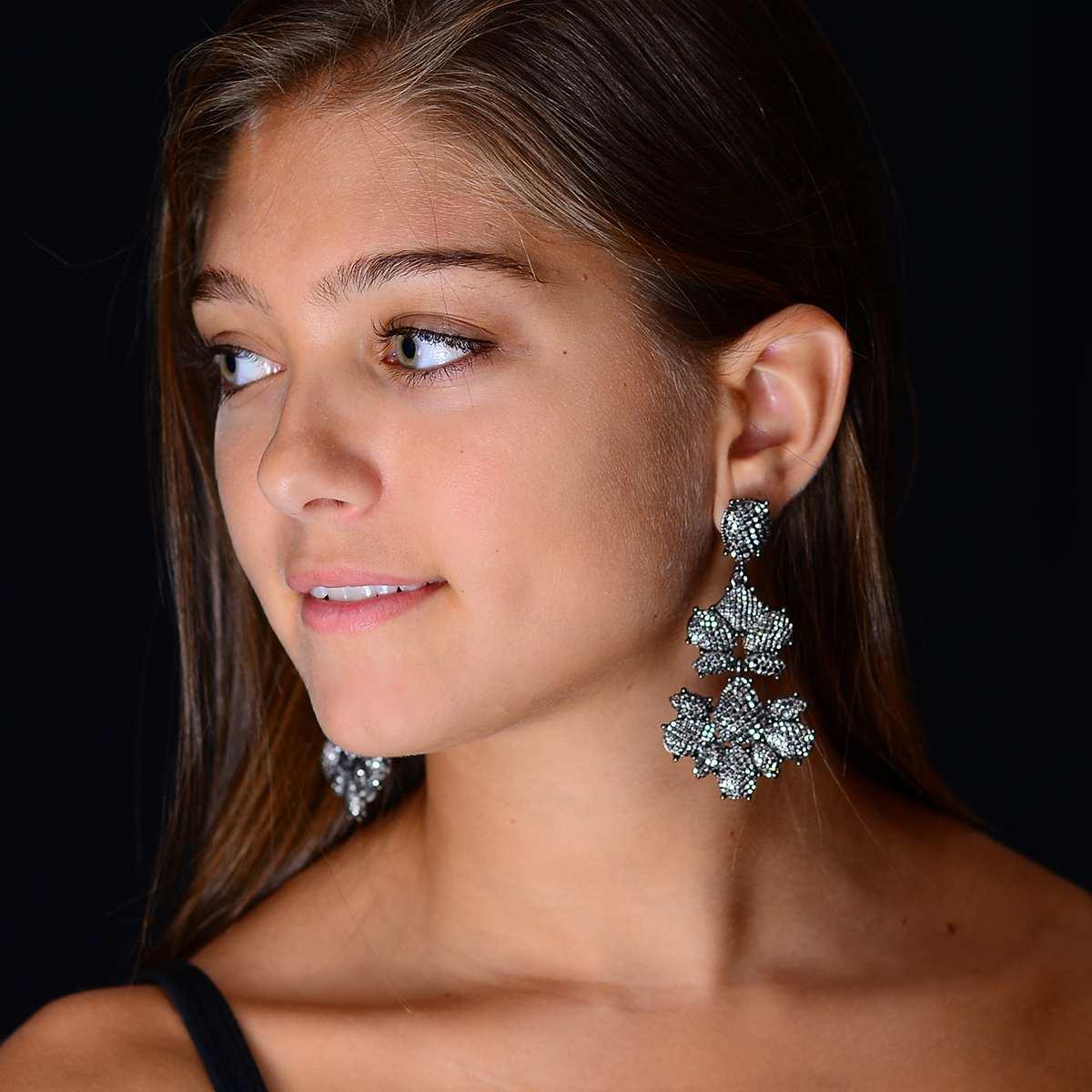 Chandelier Star Earring | Hermosaz