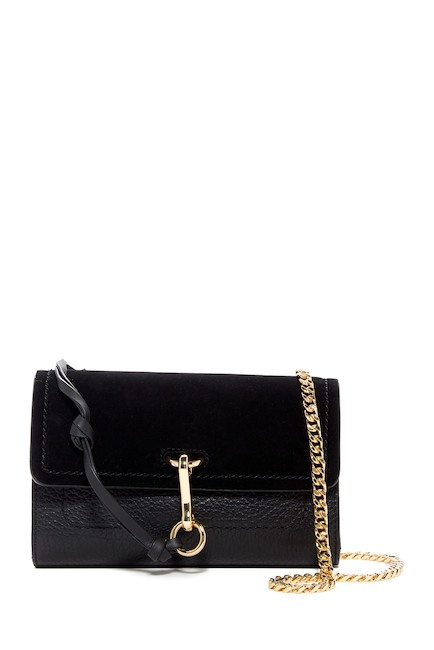 Vince Camuto Blena Leather & Suede Clutch | Hermosaz