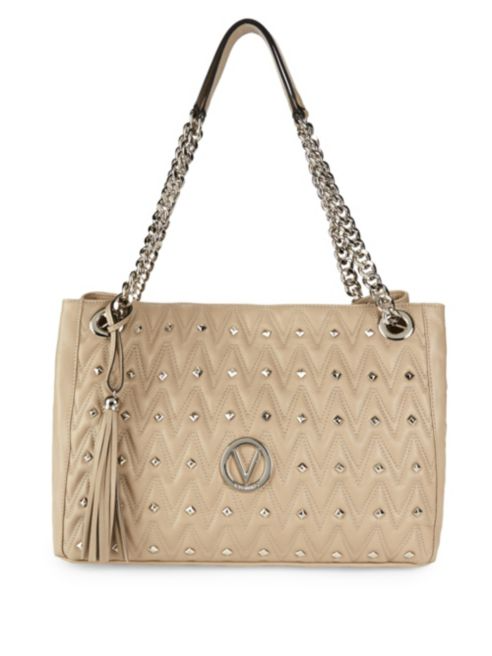 Valentino by Mario Valentino Quilted Leather Shoulder Bag | Hermosaz