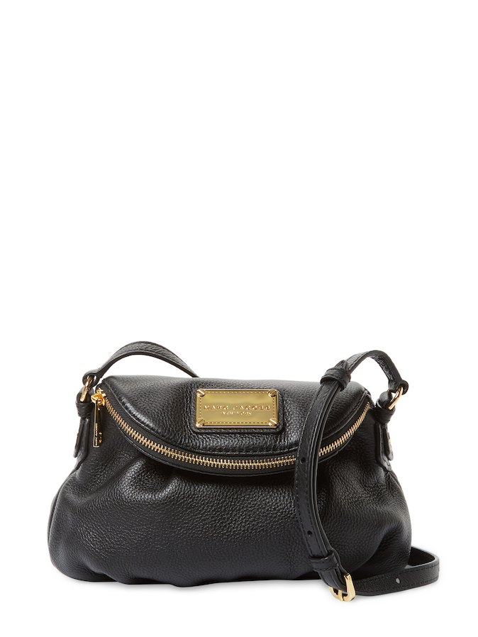 Marc Jacobs The Classic Leather Mini Crossbody | Hermosaz