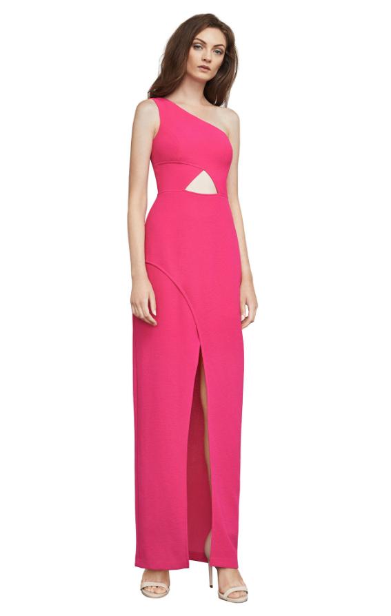 BCBG Kauri One-Shoulder Gown | Hermosaz
