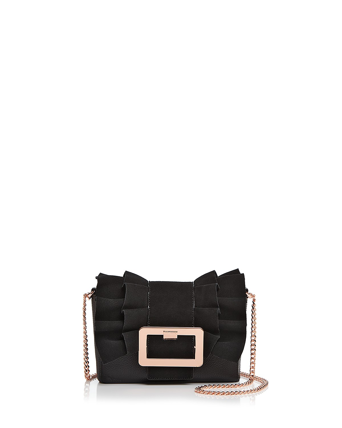 Ted Baker Nerinee Frill Buckle Clutch | Hermosaz