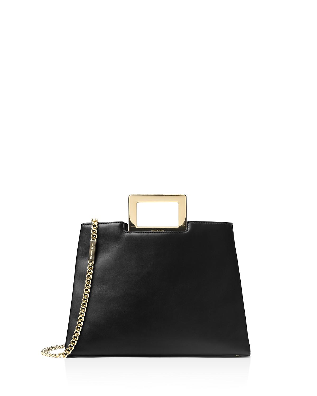 Michael Michael Kors Kristen Top Handle Large Leather Satchel | Hermosaz