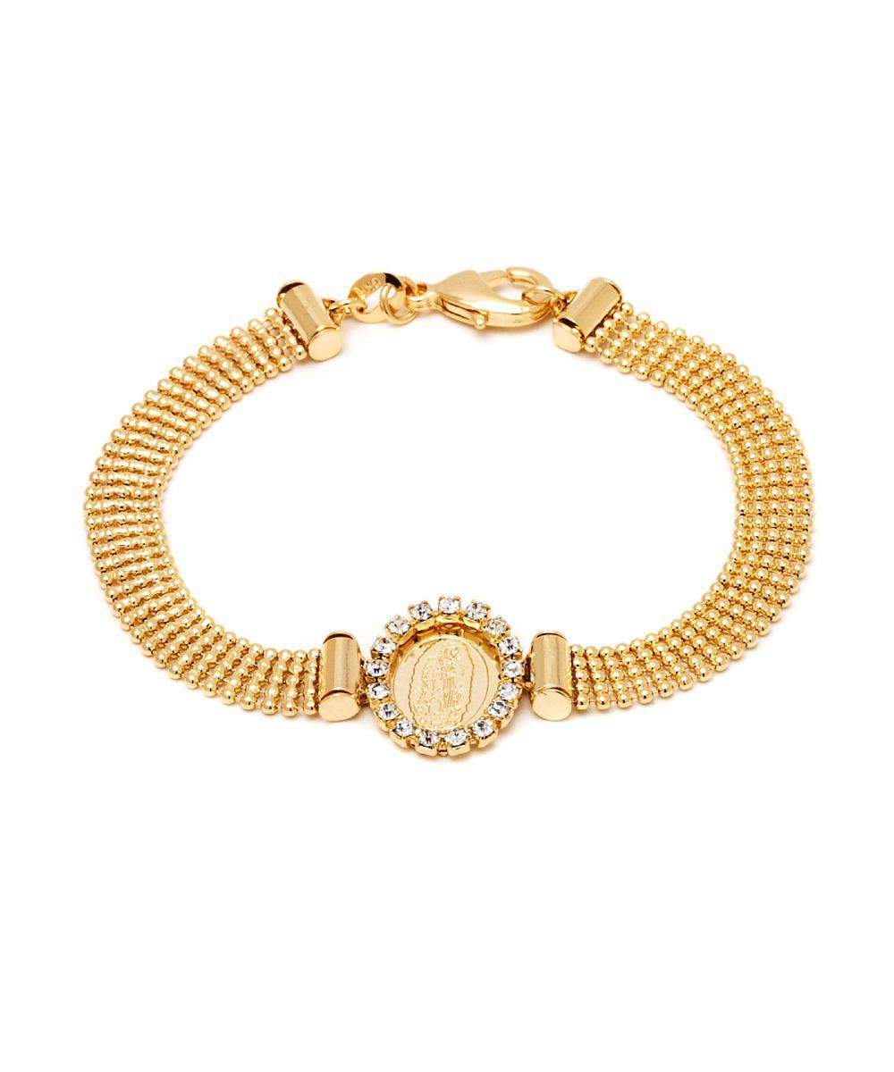 Peermont Crystal St. Guadalupe Bracelet | Hermosaz
