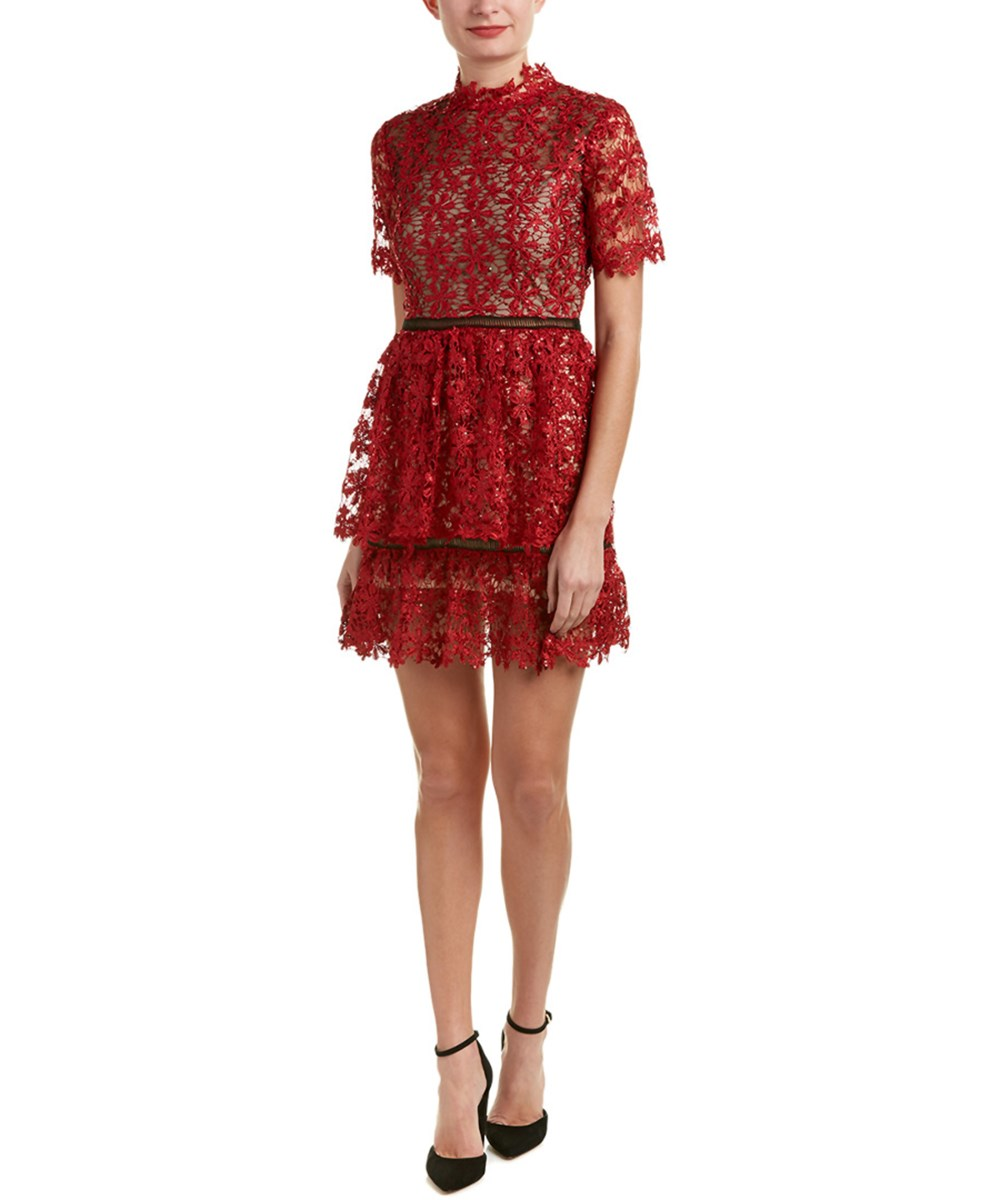 Endless Rose Sequined Lace Dress | Hermosaz