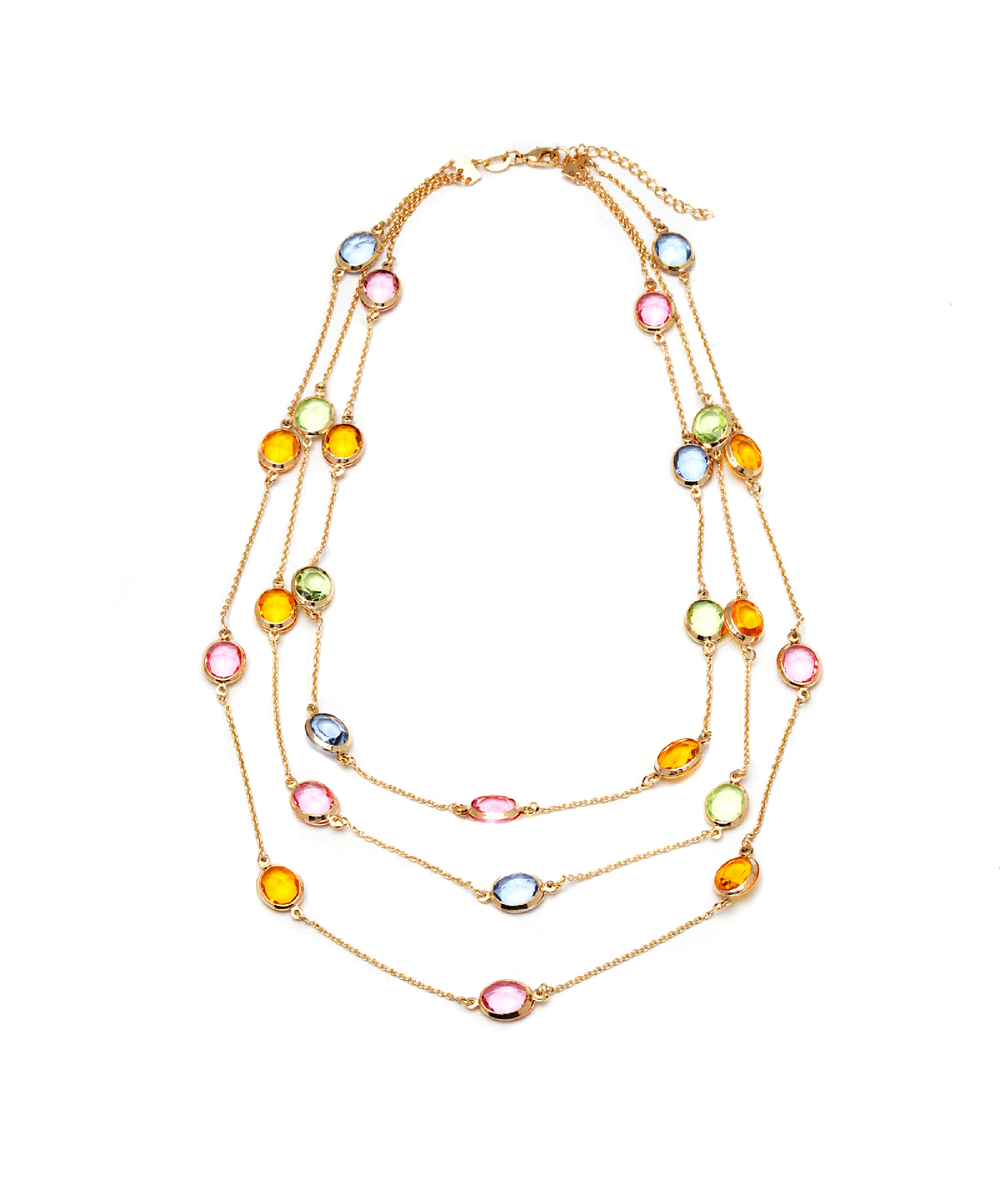 Peermont Multi Color Swarovski Elements Necklace | Hermosaz