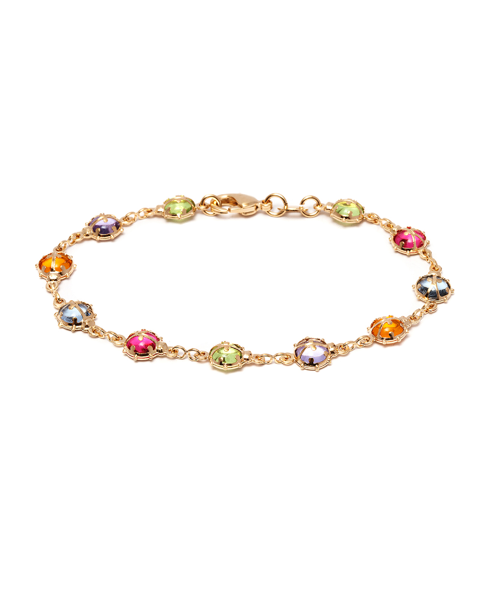 Peermont Gold And Swarovski Elements Leopard Bracelet | Hermosaz