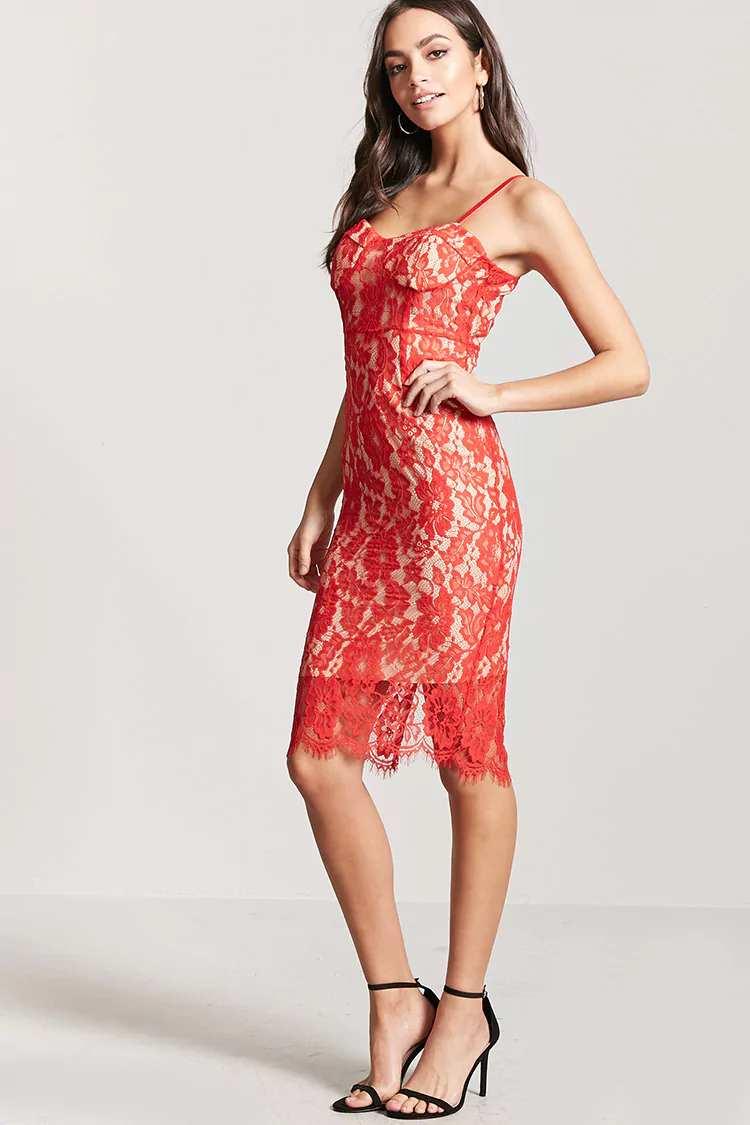 Lace Sweetheart Dress | Hermosaz