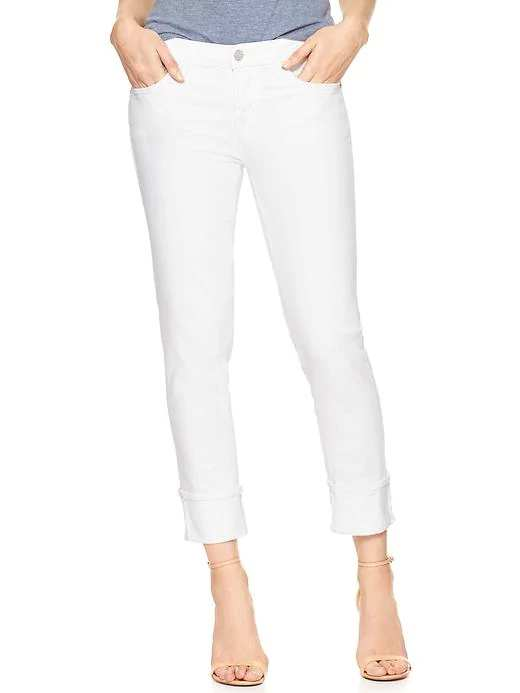 Mid Rise Straight Cuff Jeans | Hermosaz