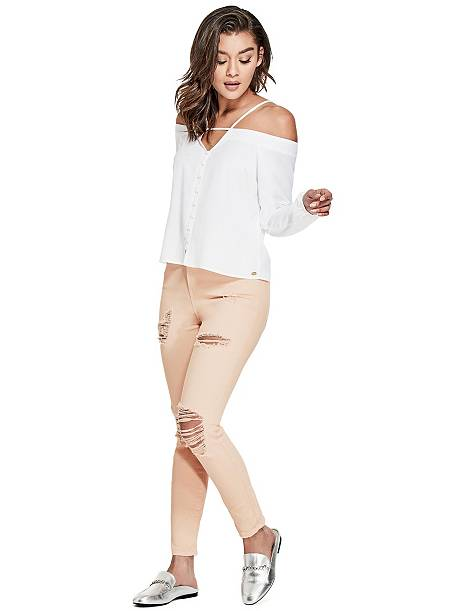 Guess KALI HIGH-RISE SKINNY JEANS | Hermosaz