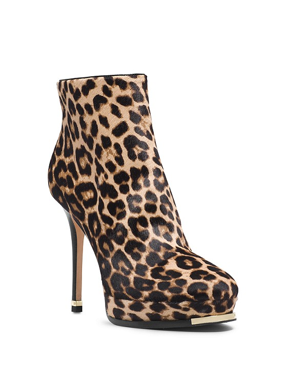 Michael Kors Collection Layton Leopard Hair Calf Ankle Boot | Hermosaz