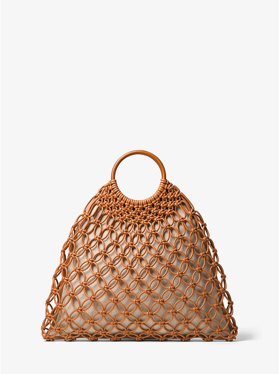 Michael Kors Collection Cooper Woven Leather Tote | Hermosaz