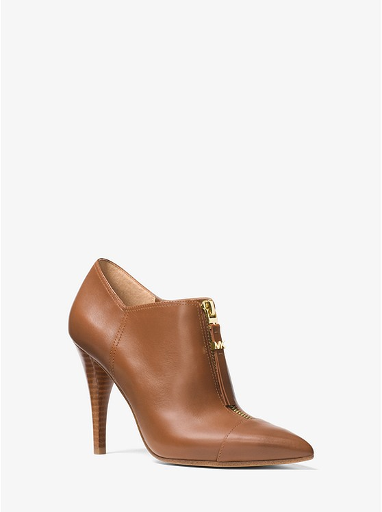 Michael Michael Kors Andi Leather Bootie | Hermosaz