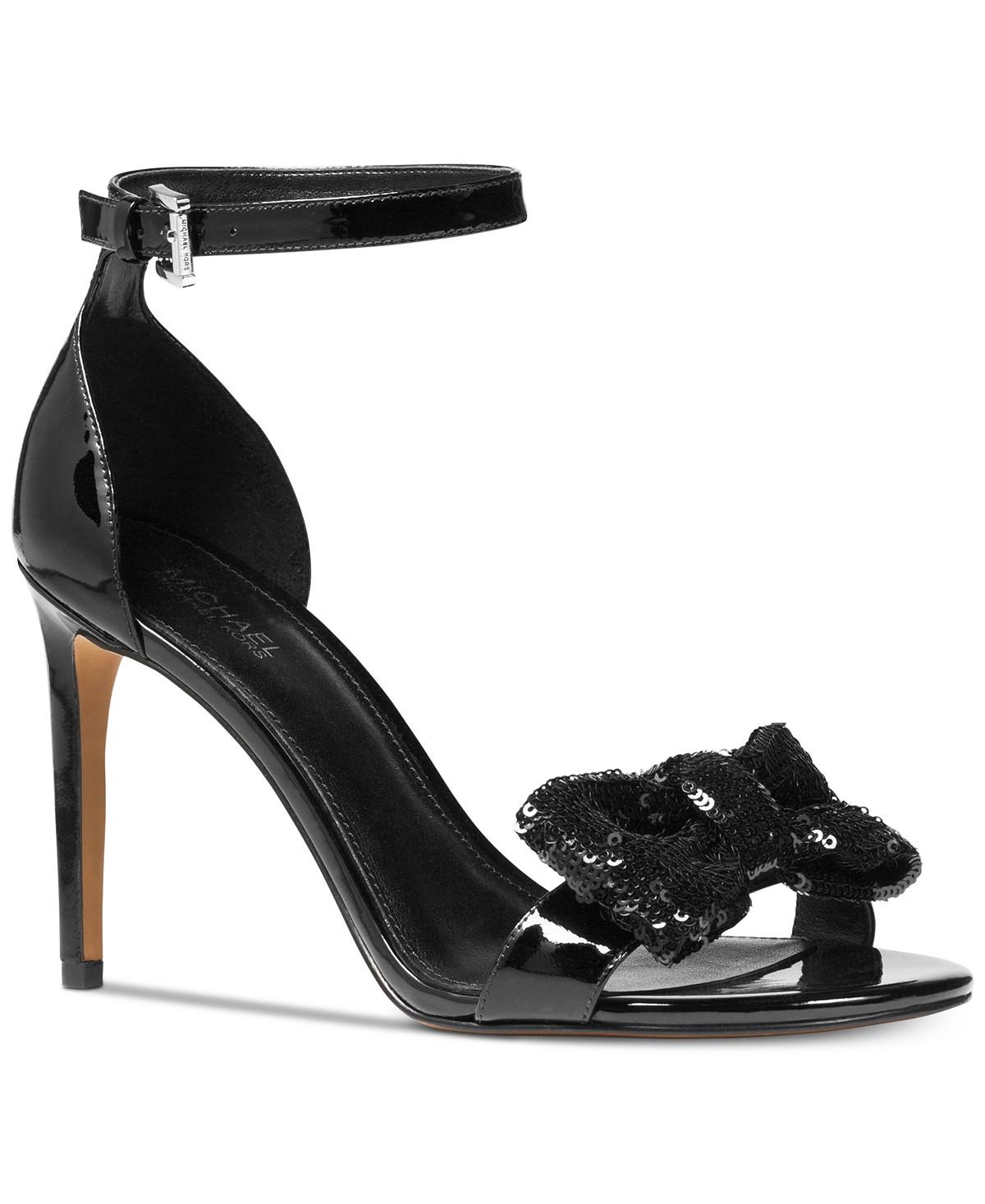 MICHAEL Michael Kors Paris Open-Toe Dress Sandals | Hermosaz