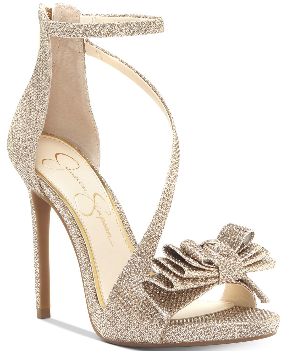 Jessica Simpson Remyia Bow Dress Sandals | Hermosaz