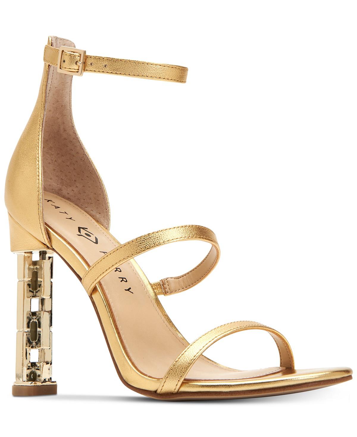 Katy Perry Vilan Chain-Heel Dress Sandals | Hermosaz