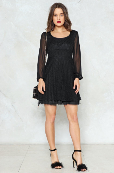 Eternal Flame Lace Dress | Hermosaz