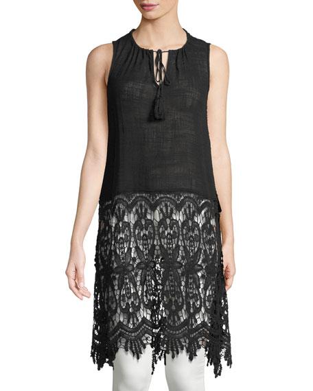 XCVI Selene Cocoon-Gauze Dress | Hermosaz