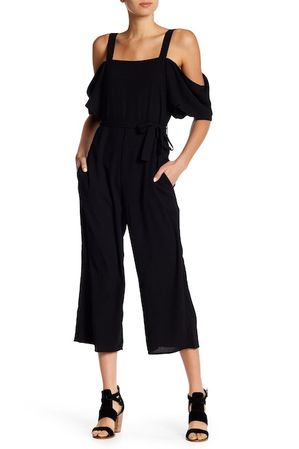 Cold-Shoulder Culotte Jumpsuit | Hermosaz
