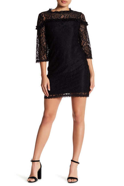 Laundry By Shelli Segal Stretch Lace Shift Dress (Petite) | Hermosaz