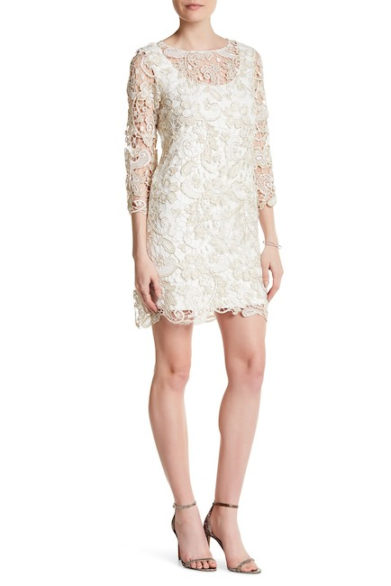 Marina Metallic Lace Dress | Hermosaz