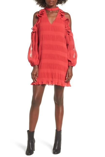 Devlin Hallie Cold Shoulder Dress | Hermosaz