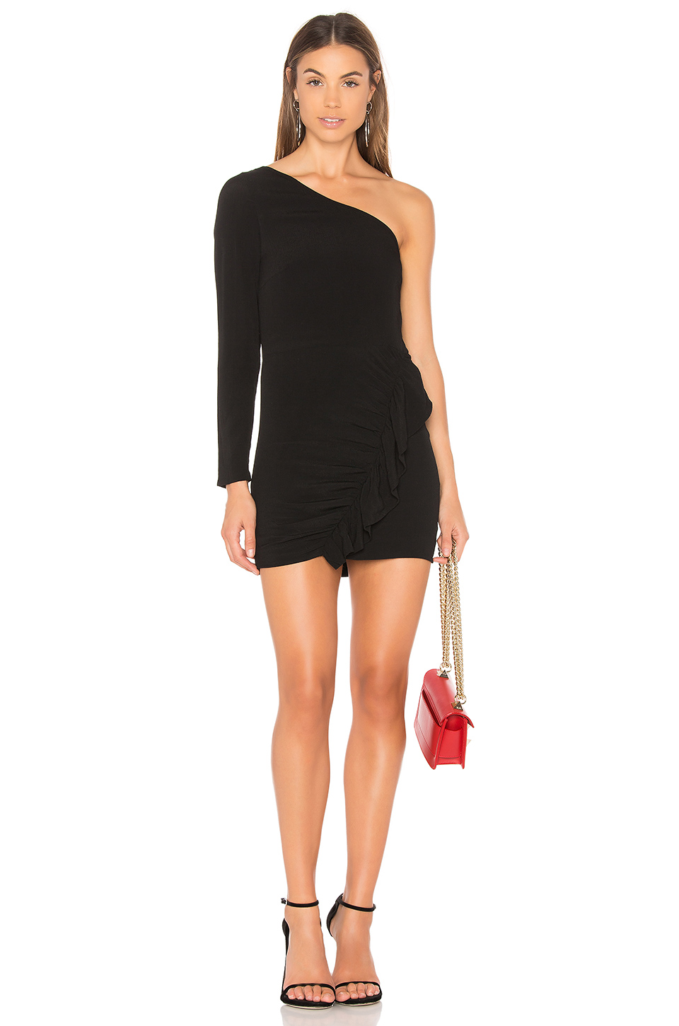 BEVERLY ONE SHOULDER DRESS | Hermosaz