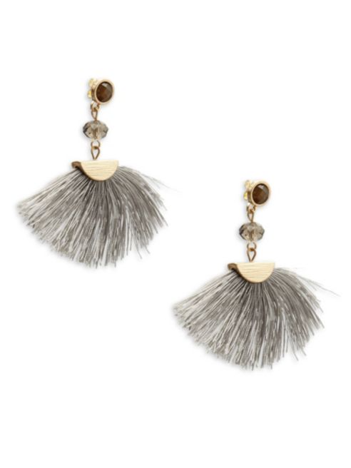 Shashi Melanie Fan Earrings | Hermosaz