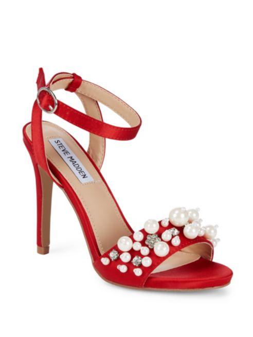 Steve Madden Dayanara Satin Stiletto Heels | Hermosaz