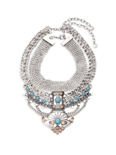 Baublebar Turquoise Tiered Necklace | Hermosaz