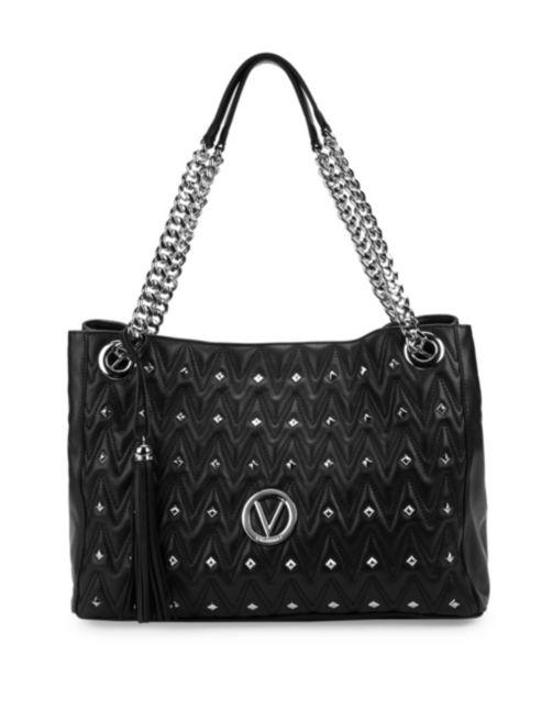 Valentino by Mario Valentino Verad Leather Shoulder Bag | Hermosaz