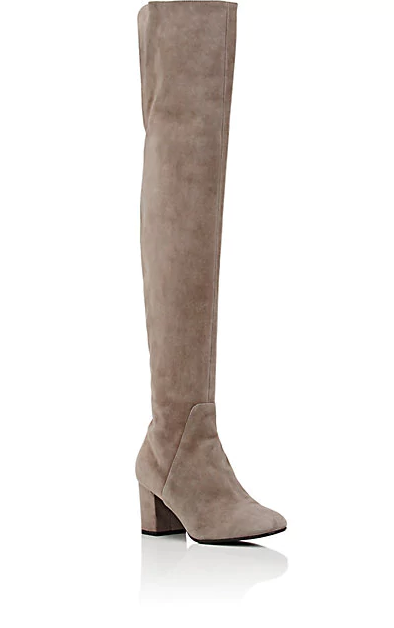 Suede Over-The-Knee Boots | Hermosaz