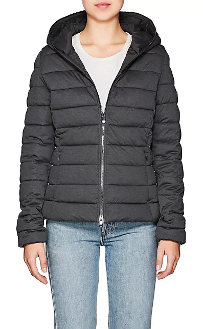 Channel-Quilted Tech-Fabric Jacket | Hermosaz
