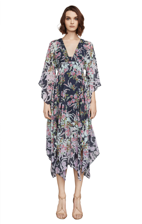 Kylia Rose Floral Handkerchief Dress
