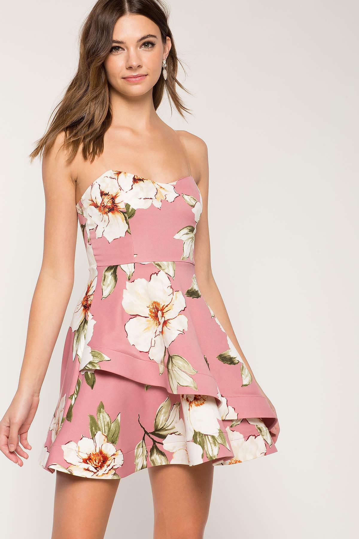 Julliet Floral Flare Dress