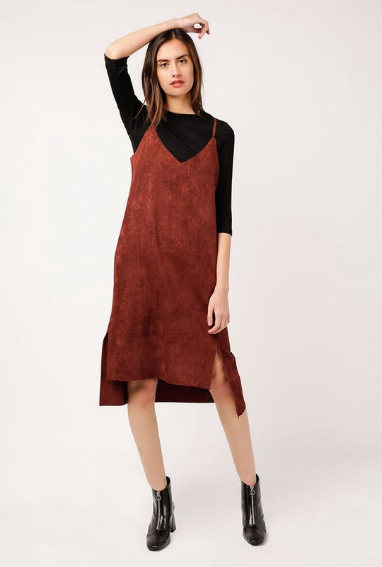 Louna Suede Dress