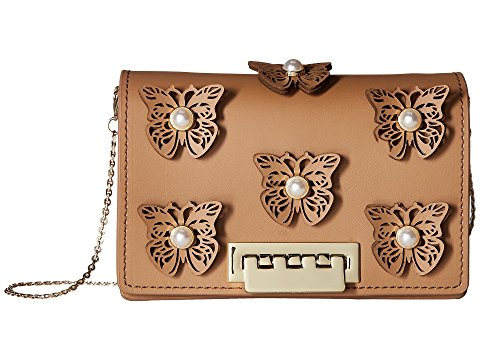 ZAC Zac Posen Earthette Accordion Crossbody - Butterfly Applique Shoulder bag