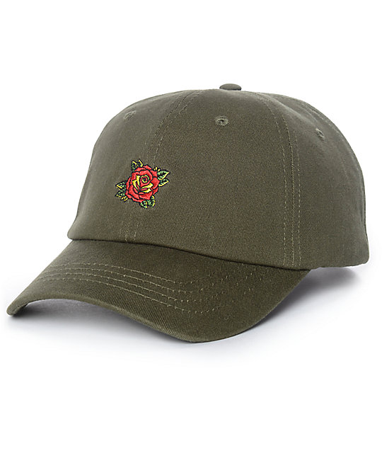 Empyre Untouchable Olive Strapback Hat