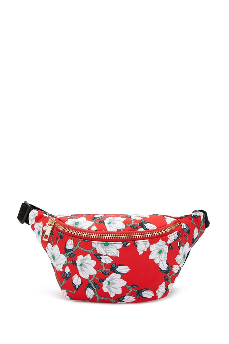 Floral Print Fanny Pack | Hermosaz